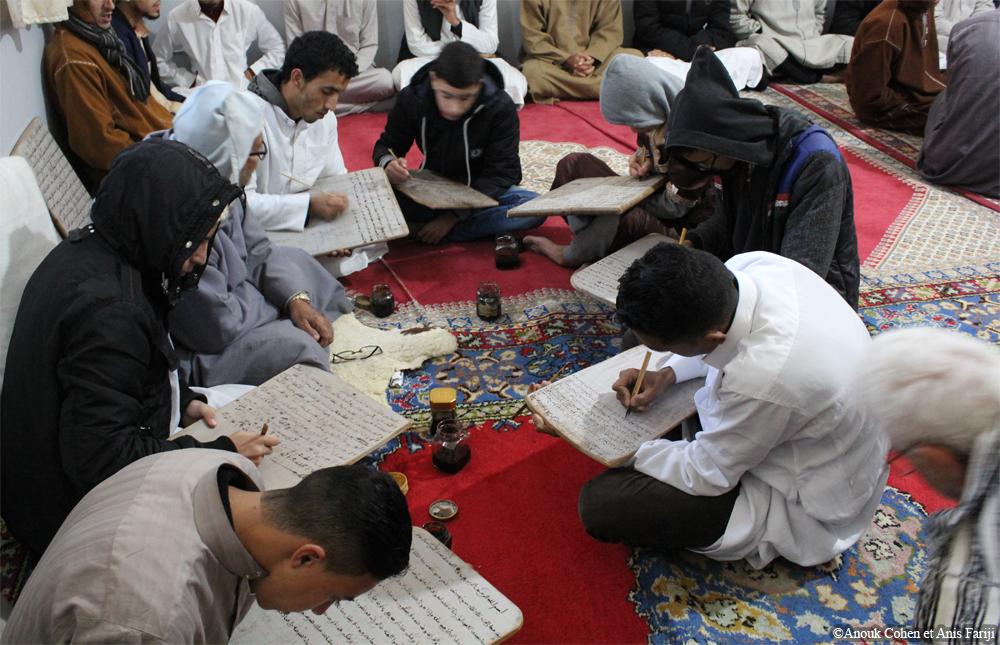 Apprendre le Coran par cœur dans le kuttāb au Maroc (Salé, Rabat et Souss): mémoire et synesthésie (+audio)