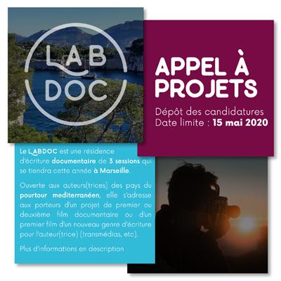 Appel à projets Meditalents pour son Lab d'écritures documentaires