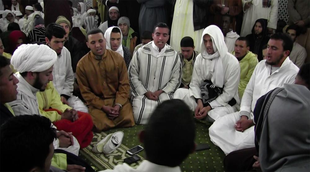 ©Compétition de récitations taḥzzabt au moussem de Lalla Taalat (madrasa de al-Sawābī) | 15-03-2018