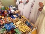 ©Vendeur de qalam-s et autres outils scolaires au moussem de Lalla Taalat | 14-03-2018